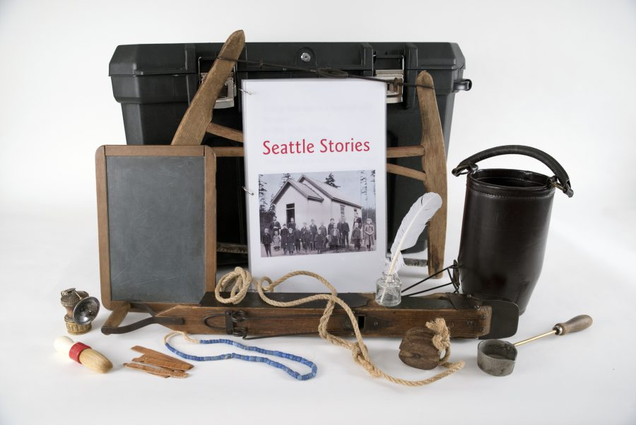 Discovering Seattle Stories Early Learning Kit contents